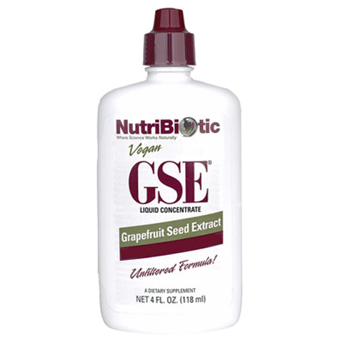 GSE - Grapefruit Seed Extract Liquid Concentrate - 4 oz