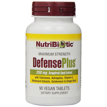 Load image into Gallery viewer, Maximum Strength DefensePlus - 90 Vegan Tablets