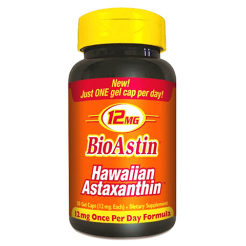 BioAstin Hawaiian Astaxanthin 12 mg - 50 Softgels