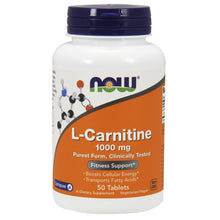 Load image into Gallery viewer, L-Carnitine Tartrate - 1000mg - 50 Tablets