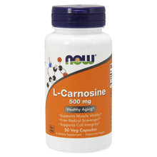 Load image into Gallery viewer, Carnosine 500mg - 50 Vegetarian Capsules