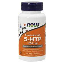 Load image into Gallery viewer, 5-HTP Double Strength 200mg - 60 Vegetarian Capsules
