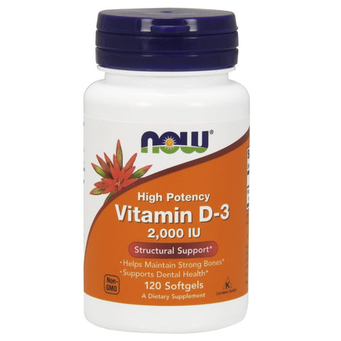 Vitamin D 2000 IU - 120 Softgels