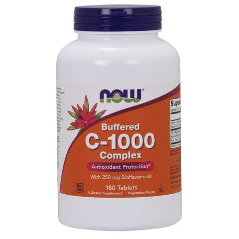 C-1000 Buffered C Sustained Release - 180 Tablets