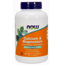 Load image into Gallery viewer, Calcium and Magnesium Citrate Powder - 8 oz