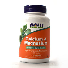 Load image into Gallery viewer, Calcium and Magnesium High Potency - 100 Tablets