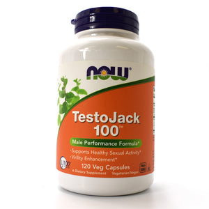 TestoJack 100 Male Performance Formula - 120 Vegan Capsules