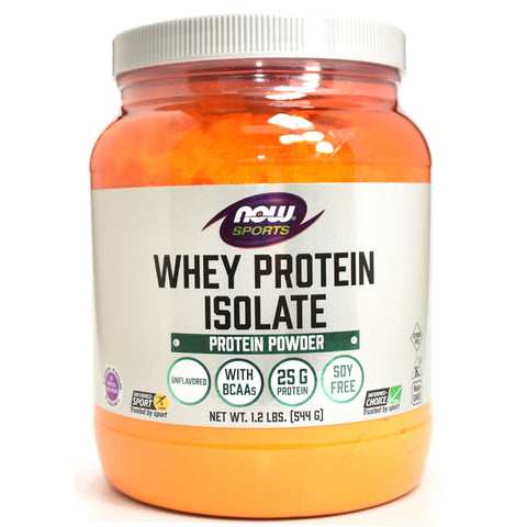 Whey Protein Isolate 100% Pure Natural Unflavored - 1.2 lb