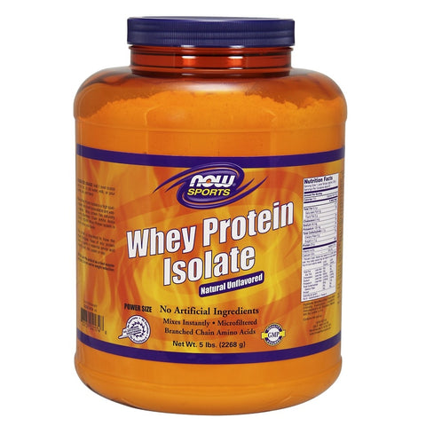 Unflavored Whey Protein Isolate - 5 lbs