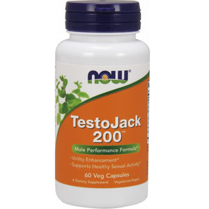 TestoJack 200 with Tongkat Ali - 60 Vegetarian Capsules