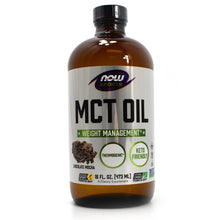 Load image into Gallery viewer, NOW Sports MCT Oil Chocolate Mocha - 16 Fl Oz