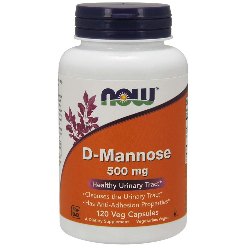 D-Mannose 500mg - 120 Capsules