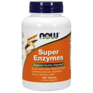 Super Enzymes - 180 Tablets