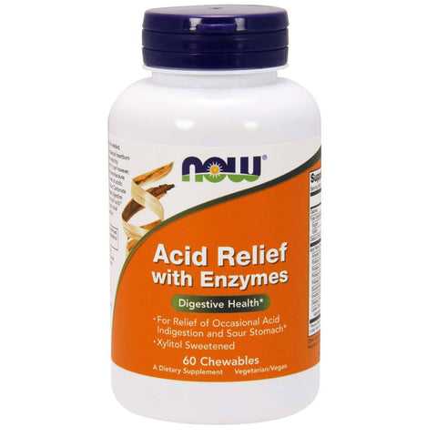 Acid Relief Chewable Enzymes - 60 Chewables