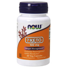 Load image into Gallery viewer, 7-Keto 100mg - 60 Vegetarian Capsules
