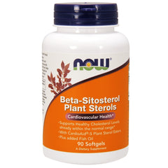 Beta-Sitosterol Plant Sterols - 90 Softgels