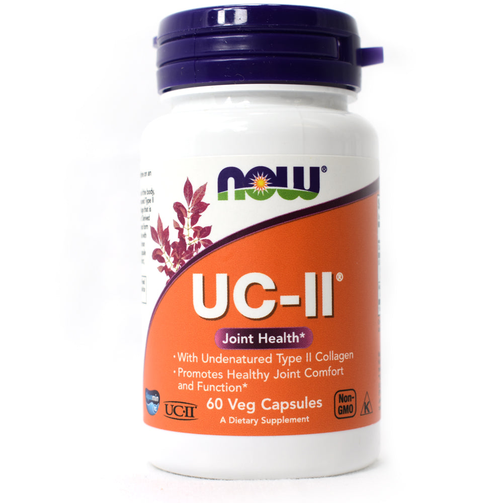 UC-II Undenatured Type 2 Collagen With Aquamin Red Algae Minerals - 60 Vegetarian Capsules