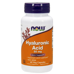 Hyaluronic Acid with MSM 50 mg. - 60 Vegetarian Capsules