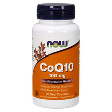 Load image into Gallery viewer, CoQ10 - 100mg - 90 Vegetarian Capsules
