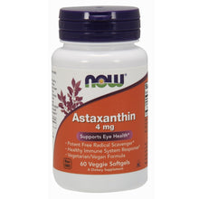 Load image into Gallery viewer, Astaxanthin Cellular Protection 4mg - 60 Softgels
