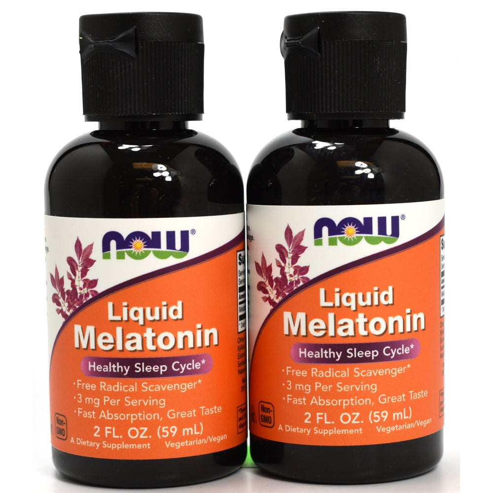 Liquid Melatonin - 2 oz (Pack of 2)