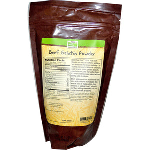 Beef Gelatin Powder Unflavored - 1 lb