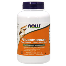 Load image into Gallery viewer, Glucomannan 100% Pure Powder from Konjac Root - 8 oz