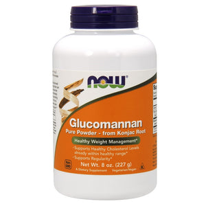 Glucomannan 100% Pure Powder from Konjac Root - 8 oz