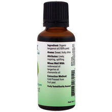 Load image into Gallery viewer, Bergamot Oil Certified Organic and 100% Pure - 1 fl oz