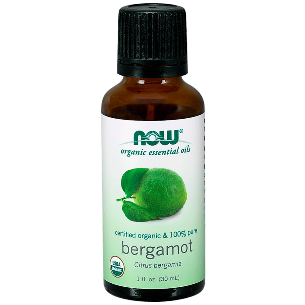 Bergamot Oil Certified Organic and 100% Pure - 1 fl oz