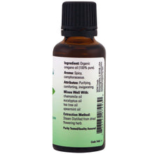 Load image into Gallery viewer, Oregano Oil Certified Organic and 100% Pure - 1 fl oz