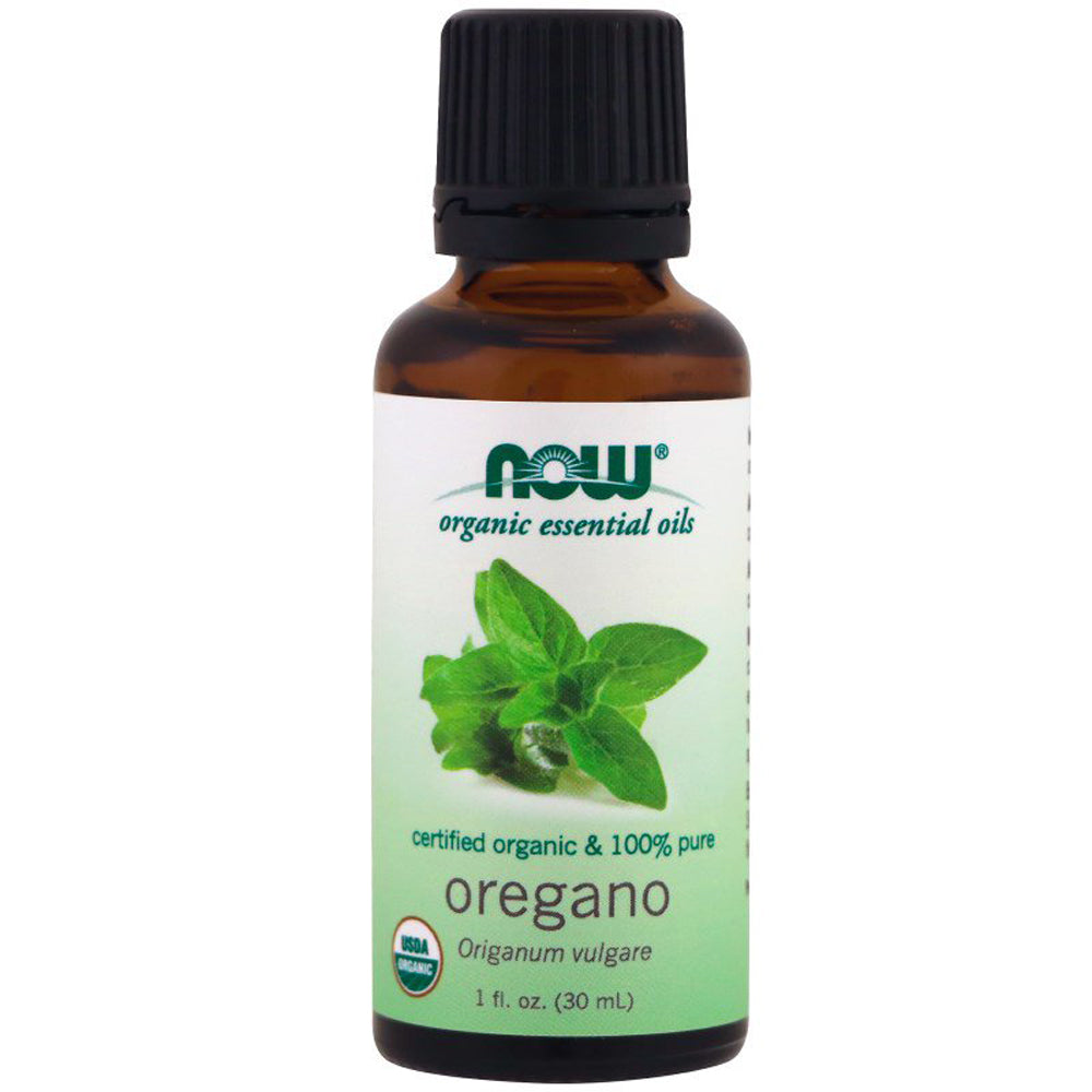 Oregano Oil Certified Organic and 100% Pure - 1 fl oz