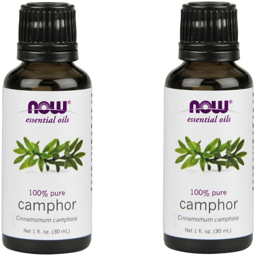 Camphor Oil 100% Pure & Natural - 1 oz (Pack of 2)