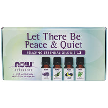 Load image into Gallery viewer, Let There Be Peace & Quiet Relaxing Essential Oil Kit