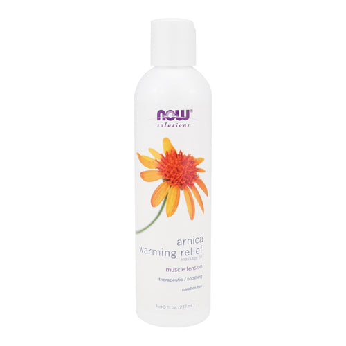 Arnica Warming Relief Massage Oil - 8 Oz