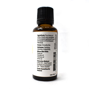 Lemon and Eucalyptus Blend - 1 FL oz