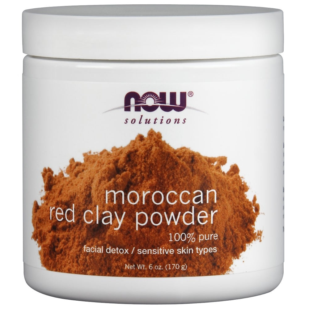 Moroccan Red Clay - 100% Pure - 6 oz