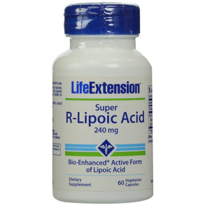 Super R-Lipoic Acid 240 mg - 60 Vegetarian Capsules