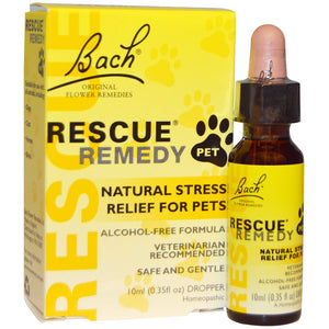 Rescue Remedy Natural Stress Relief for Pets - 10 ml