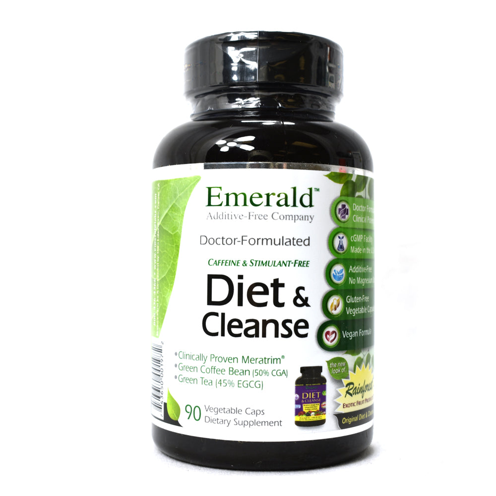 Diet and Cleanse - 90 Vegetable Capsules