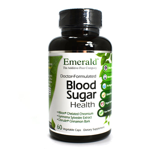 Blood Sugar Health - 60 Vegetarian Capsules