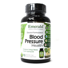 Blood Pressure Health Raw Whole-Food Based Formula - 90 Vegetarian Capsules