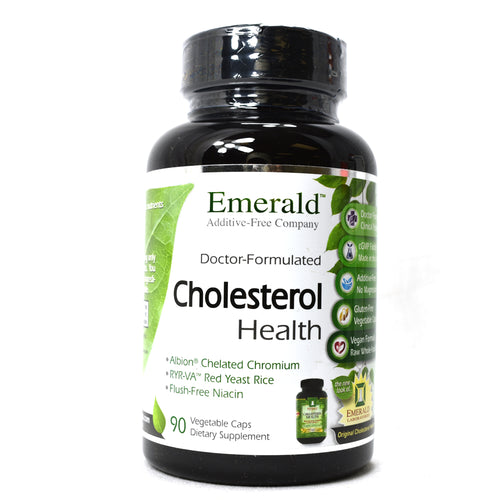 Cholesterol Health Raw Whole Food Formula - 90 Capsules