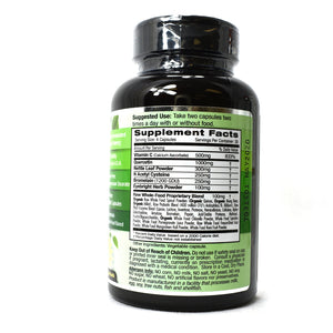 Allergy Health Raw Whole-Food Based Formula - 120 Vegetarian Capsules