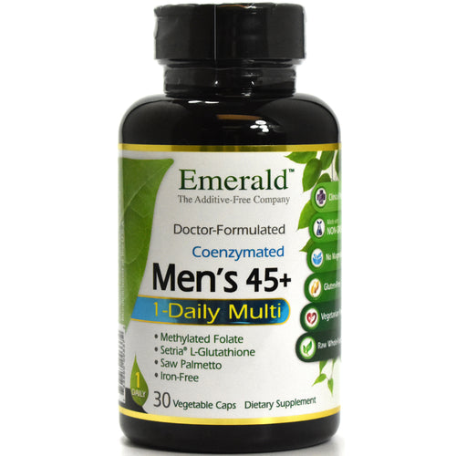 Doctor Formulated CoEnzymated Men's 45+ One Daily Multi - 30 Vegetarian Capsules