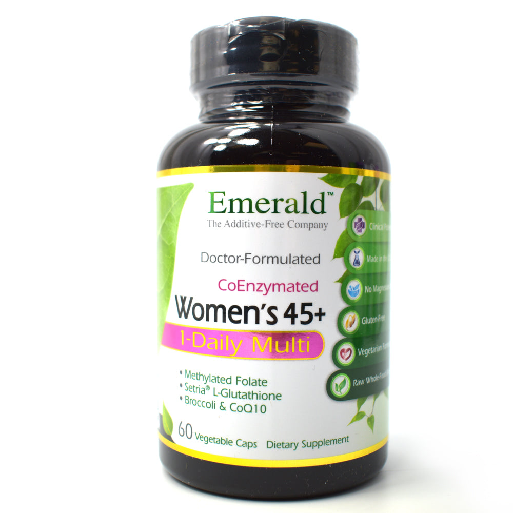 CoEnzymated Women's 45+ One Daily Multi - 60 Vegetable Capsules