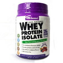 Load image into Gallery viewer, 100% Natural Whey Protein Isolate Powder Natural Mixed Berry Flavor - 1 lb