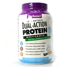 Load image into Gallery viewer, Dual-Action Protein Whey + Casein Natural French Vanilla Flavor - 2.1 lb