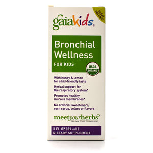GaiaKids Bronchial Wellness Syrup - 3 oz