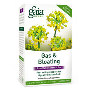 Gas and Bloating Rapid Relief Herbal Tea - 16 Tea Bags